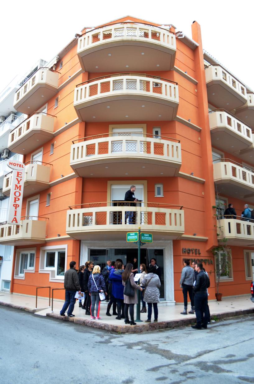 App.Hotel, Eymorfia