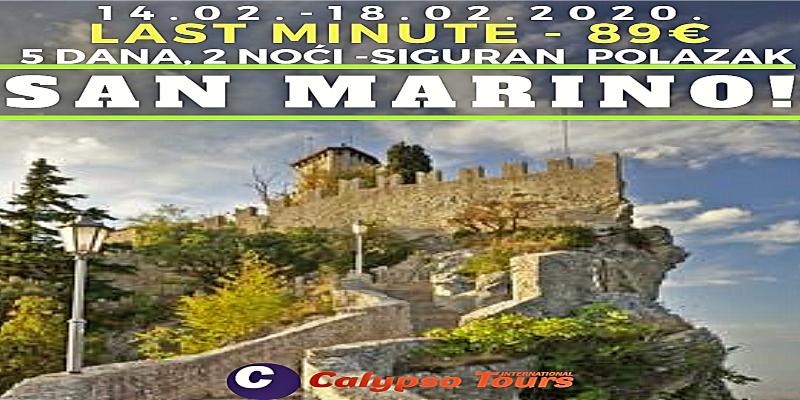 San Marino - Last minute !